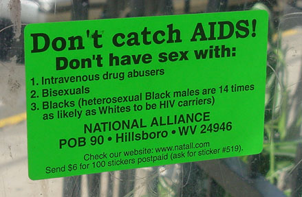 Heterosexual Black males are now 23 times as likely as Whites to be HIV carriers
