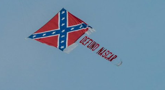 I wonder if the pilot would fly an NA banner too....